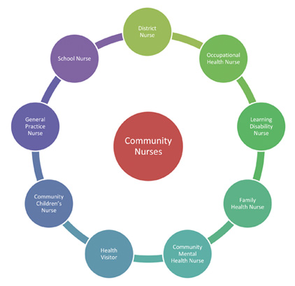 community health nursing role in the Nurse role paper nurse's role in community health settings 3-26-15 chose one of the nurse role below and discuss how it is carried out by the community health nurse in the setting.